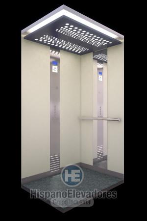 Cabina elevador doméstico de HispanoElevadores