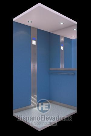 HispanoElevadores cabina elevador doméstico