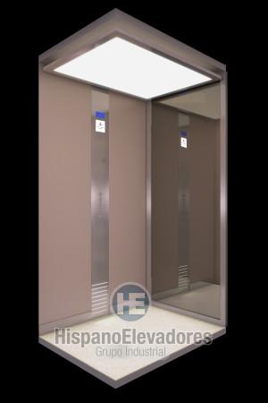 Cabina elevador doméstico HispanoElevadores