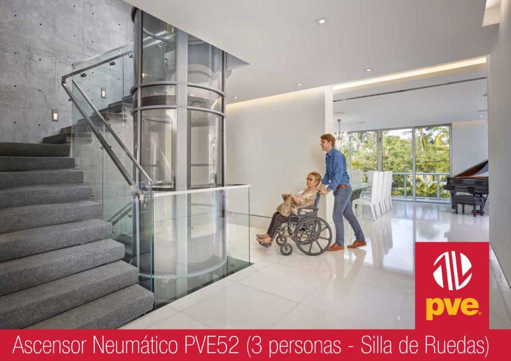 Ascensor neumático 3 plazas - Sevilla Huelva